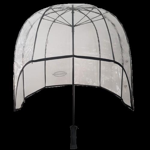 clear windproof dome umbrella