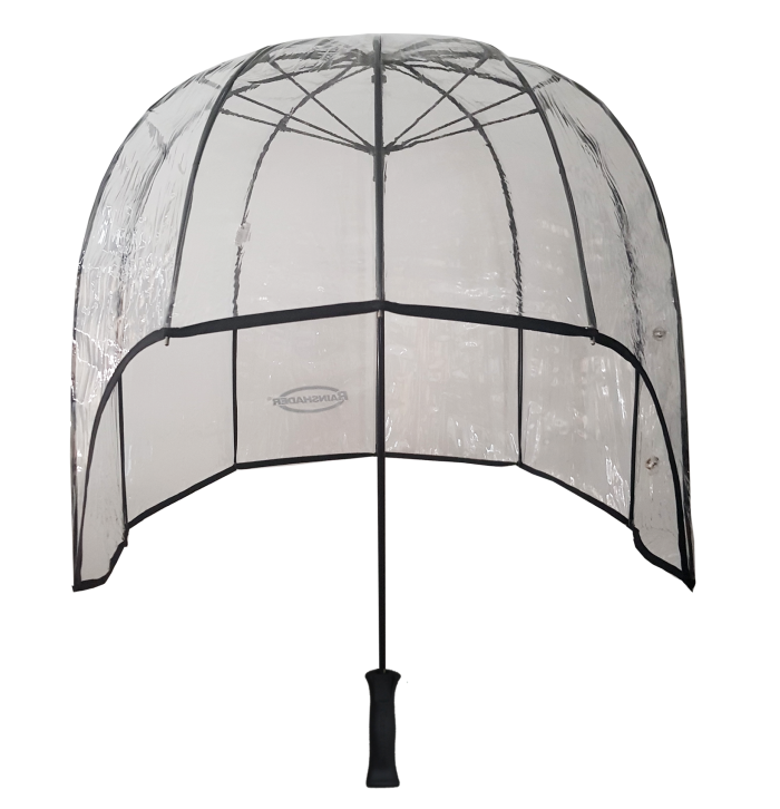 clear windproof dome umbrella