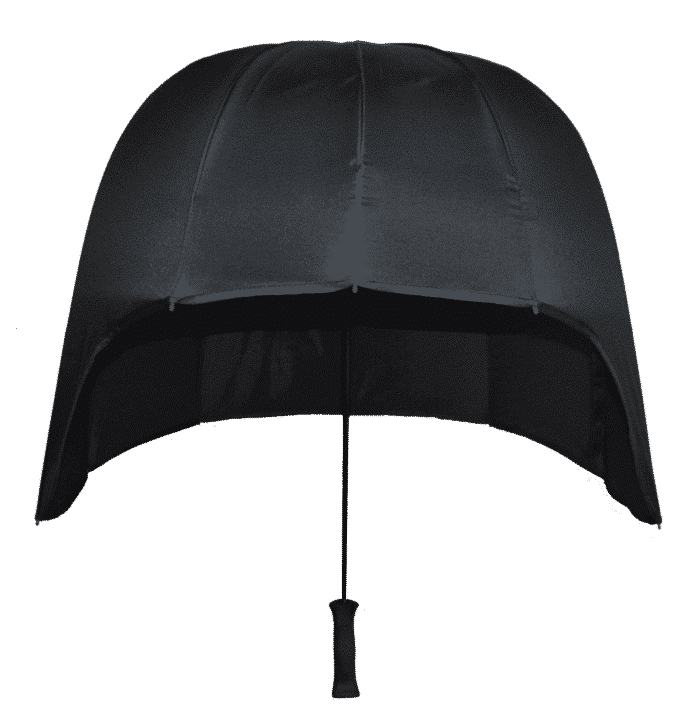 back dome umbrella