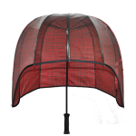 Windproof dome umbrella