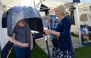Ladies windproof strong umbrella
