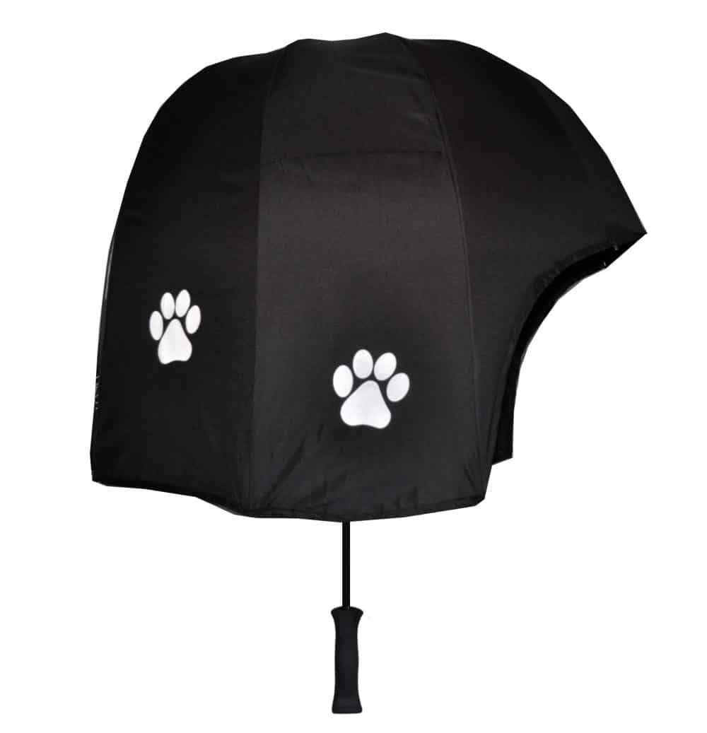 Paw print strong umbrella