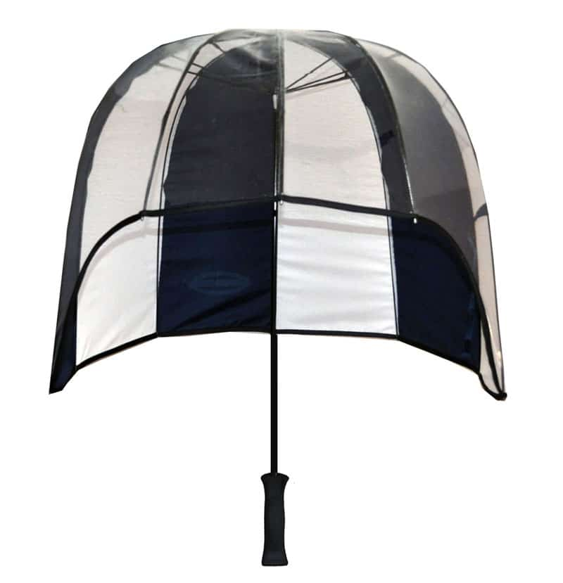 Windproof gold umbrella