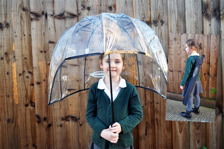 Child's windproof umbrella